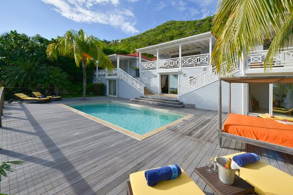 Hillside villa with a gorgeous sea view on Gustavia Harbor WV HSL - Image 1 - Saint Barthelemy - rentals