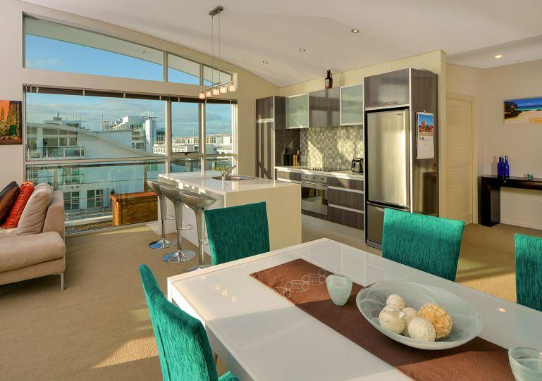 Wide living area - Penthouse Waterfront 3 bedroom Apartment on Princes Wharf, Auckland - Auckland - rentals