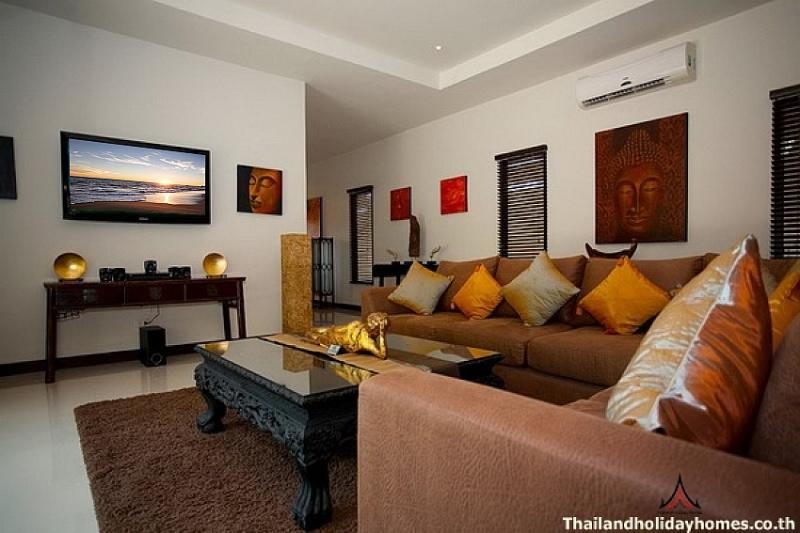 Modern 4 bed Nai Harn serviced villa - Image 1 - Kata - rentals