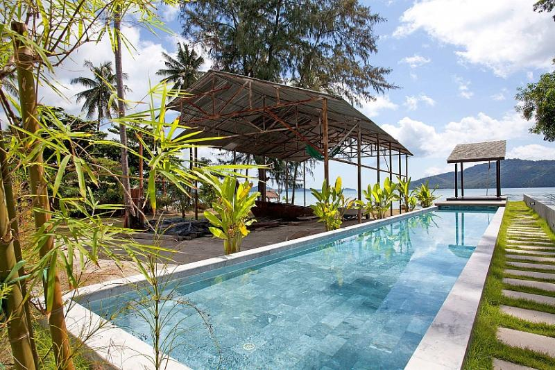 Chic beachfront 2 bed villa at Chalong - Image 1 - Chalong - rentals