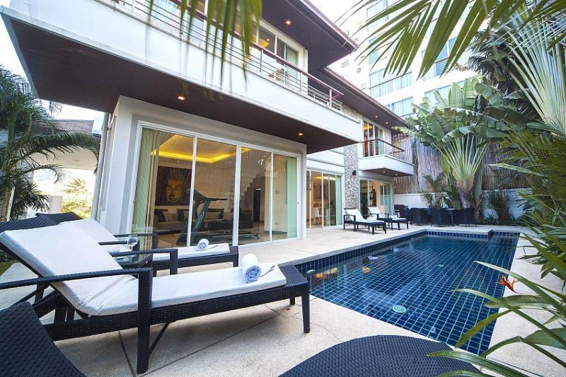 Modern chic pool villa at Kamala Beach - Image 1 - Kamala - rentals