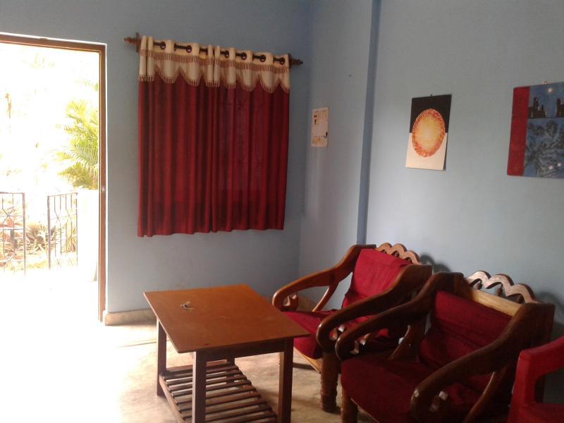 Room with attached garden facing balcony - Cozy Room /Apartment located in Morjim Goa - Morjim - rentals
