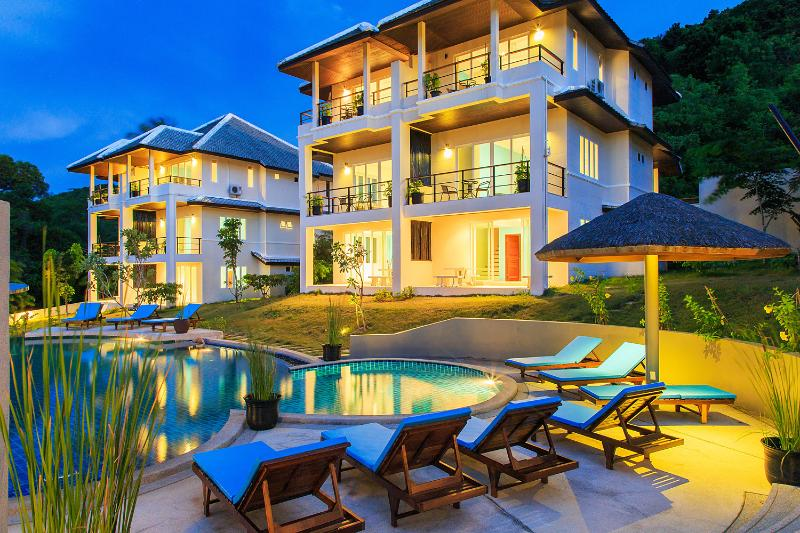 "View on the ""3 bedrooms villas"" - TROPICA-Villas resort with Service-Ideal for group - Koh Samui - rentals"