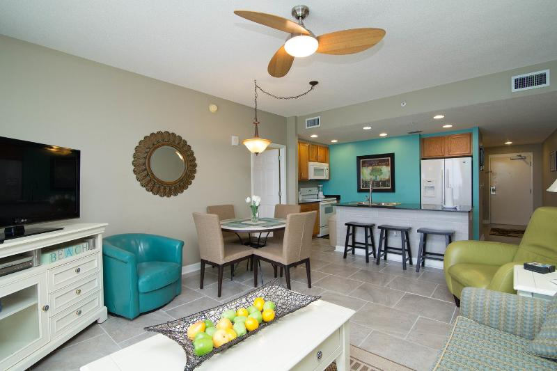 Living Room - Sterling Reef - Spectacular Views of the beach BOOK IT NOW FOR SPRING & SUMMER - Panama City Beach - rentals