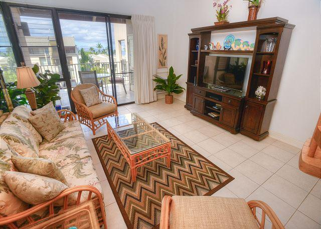 2-bedroom Renovated Ocean View Condo with Expansive Lanai - Image 1 - Kihei - rentals