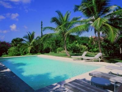 Pool area. - Delightful 4 Bedroom Villa in Sandy Lane - Sandy Lane - rentals