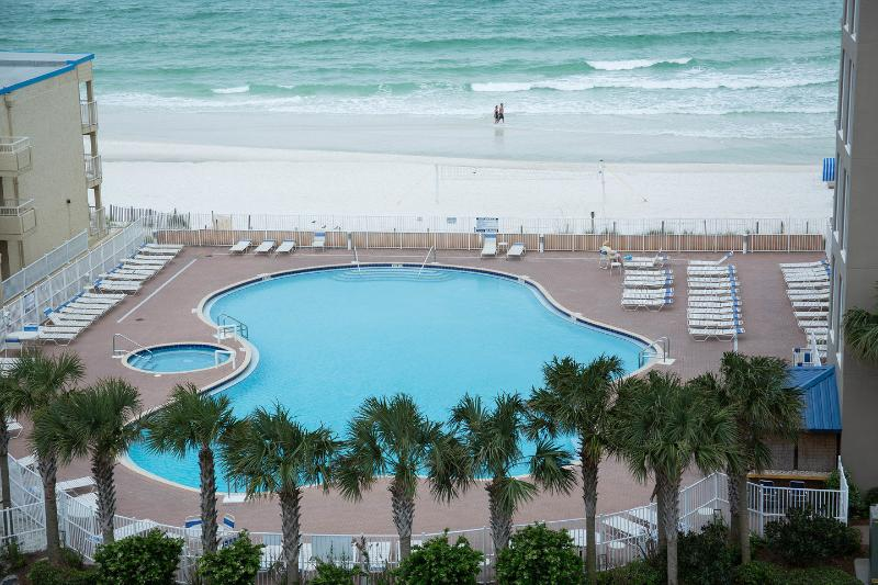 The Pool - Oceanfront Master Bedroom with Spectacular View ! - Panama City Beach - rentals