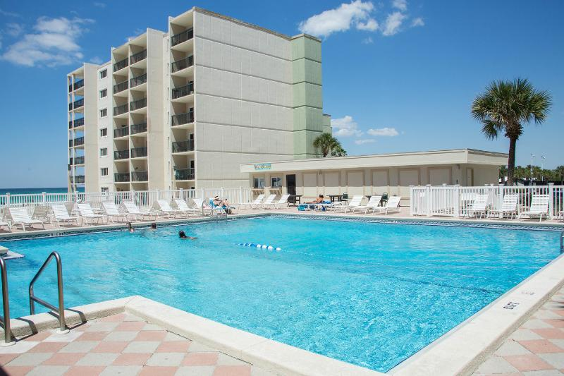The Pool - Gulf Front Condo At Pinnacle Port Resort Unit A537 - Panama City Beach - rentals