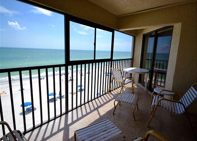Arie Dam 402 - Nicely Renovated Gulf Front Condo with Balcony, Pool and Spa! - Image 1 - Madeira Beach - rentals
