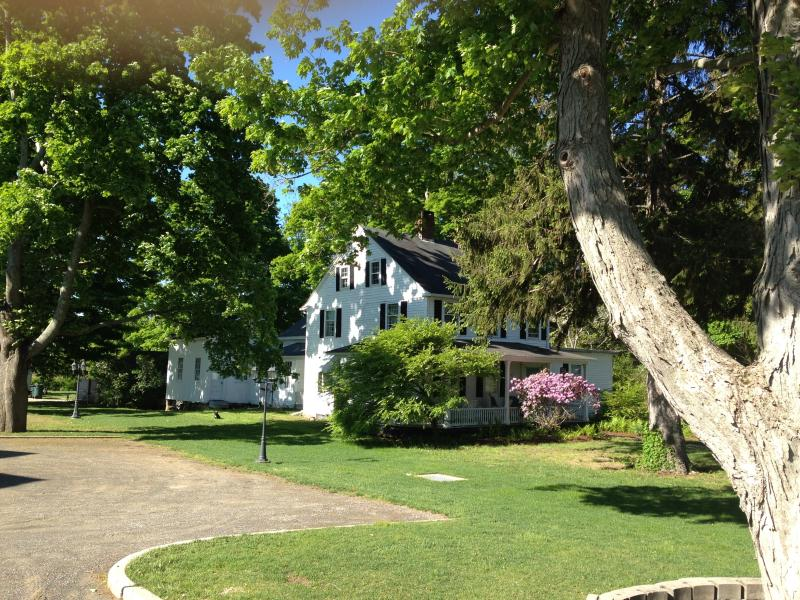 Sun and shade in Summer - Charming New England Historical - Reunions -Garden - Old Saybrook - rentals