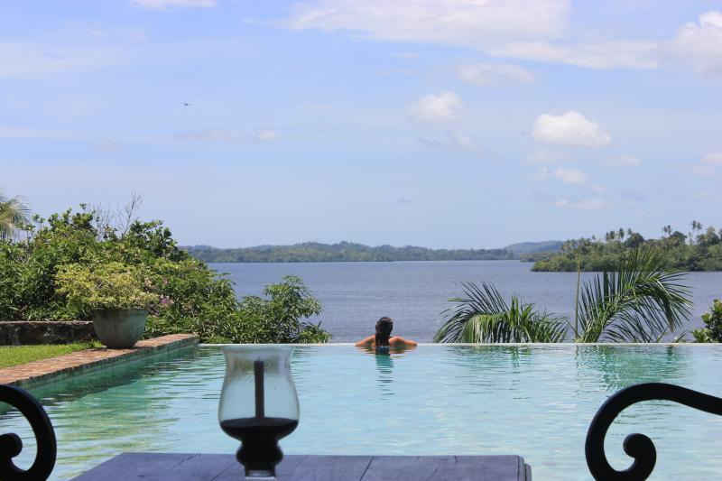 Pool with a view - Lakeview Villa, Koggala Lake, Galle - Ahangama - rentals