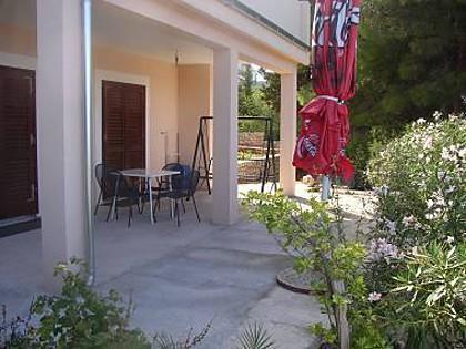 A4(4): terrace - 5089 A4(4) - Primosten - Primosten - rentals