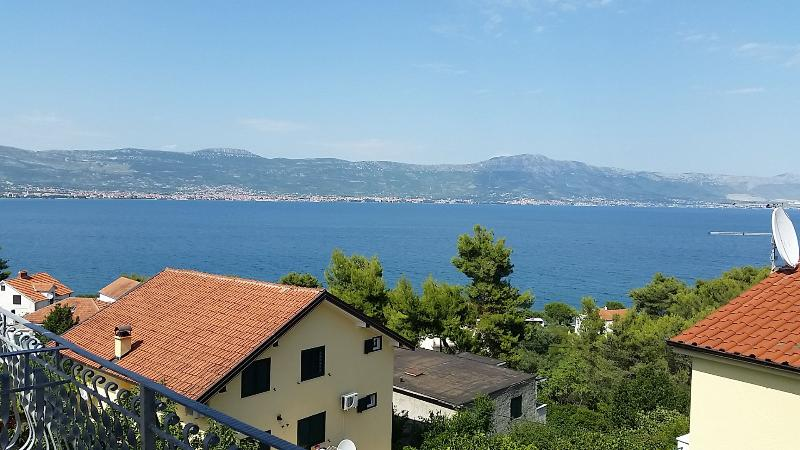 SA5(2): terrace view - 5187 SA5(2) - Slatine - Slatine - rentals