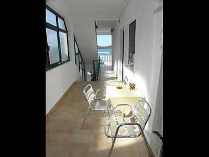 SA1(3): terrace - 5552 SA1(3) - Pirovac - Pirovac - rentals