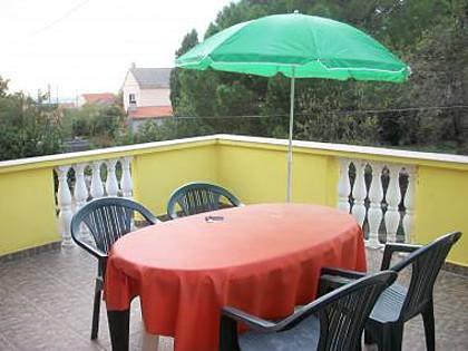 A2(3): terrace - 00318PETR A2(3) - Petrcane - Petrcane - rentals