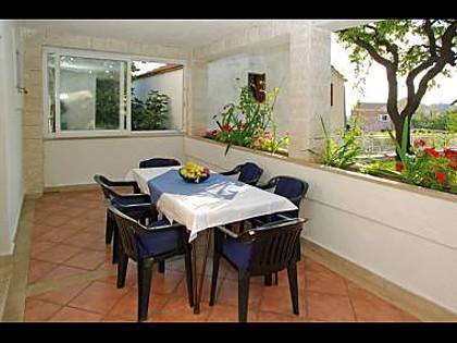 A1 (4+1): garden terrace - Dzaja A1 (4+1) - Bol - Bol - rentals