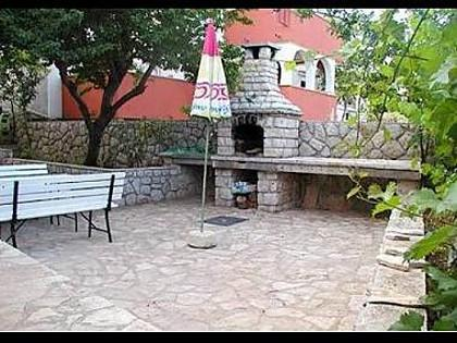 courtyard (house and surroundings) - 2184  A1(4+1) - Cres - Cres - rentals