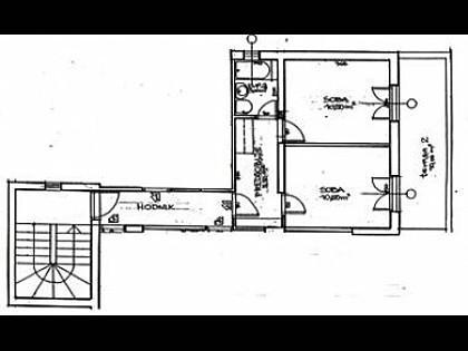 A4(4): floor plan - 3637 A4(4) - Dubrovnik - Dubrovnik - rentals