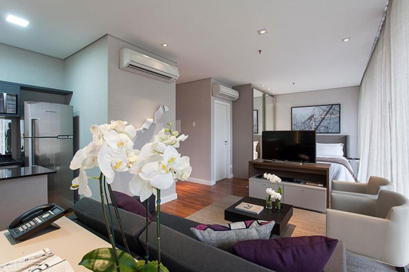 Cozy 1 Bedroom Apartment in Vila Olimpia - Image 1 - Sao Paulo - rentals