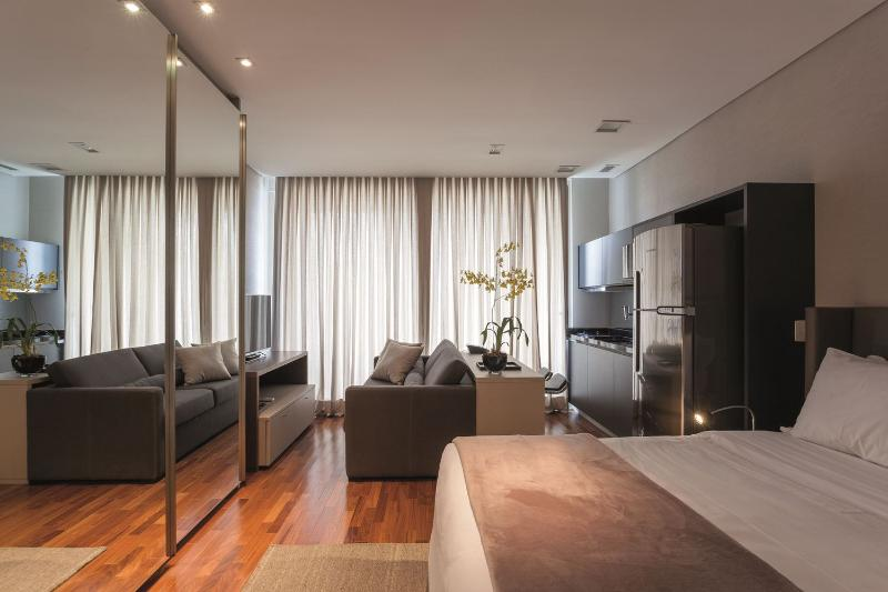 Modern 1 Bedroom Apartment in the Heart of Vila Olimpia - Image 1 - Sao Paulo - rentals