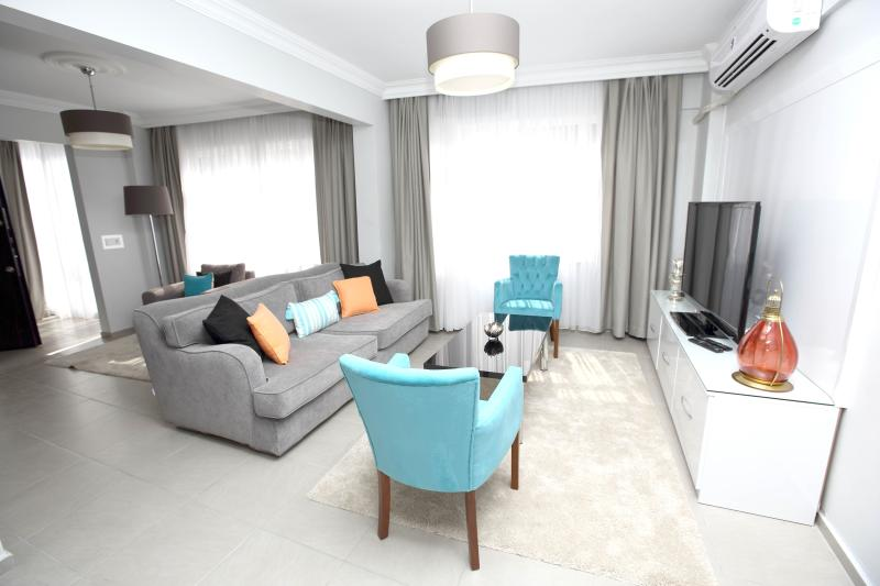 Living Room - Patika Suites - Blue Zircon Spacious 1 BR - Istanbul - rentals
