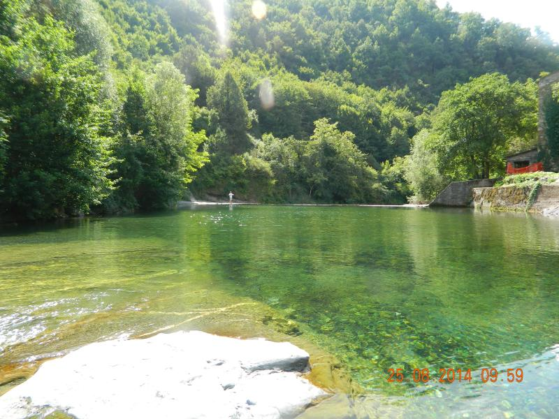 Molini Swimming Lake (5 min from Casa) - Traditional Stone Holiday Cottage  In Liguria, Ita - Triora - rentals