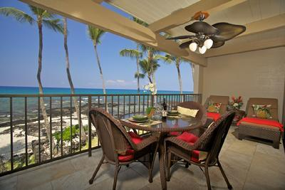 Oceanfront Condo with Fabulous View - Image 1 - Kailua-Kona - rentals