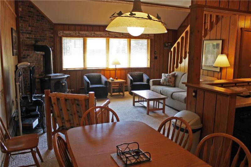 Located at Base of Powderhorn Mtn in the Western Upper Peninsula, A Comfortable Duplex 1 Block from Main Ski Lodge with Private Whirlpool Tub - Image 1 - Ironwood - rentals