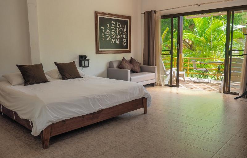 The best seller room at Escape-Cabins. Stylish and charming with a view of garden and pool. - Peaceful Zen Bungalow with Pool in Long Beach - Ko Lanta - rentals