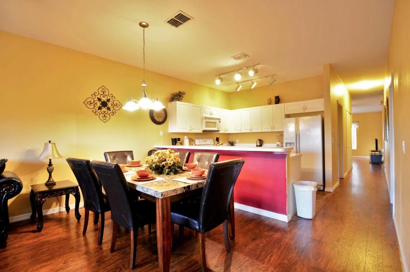 dinning area - New Opening 4BR/3BA Condo, 2 Miles to Disney - Kissimmee - rentals