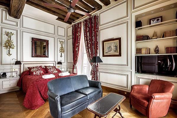 Master Bedroom - Saint Germain des Pres - Odeon Suite - Paris - rentals