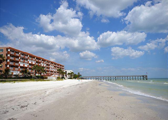 La Contessa 307- 3 BR Gulf Front Condo - HDTV, Internet, Free Long Distance! - Image 1 - Redington Beach - rentals