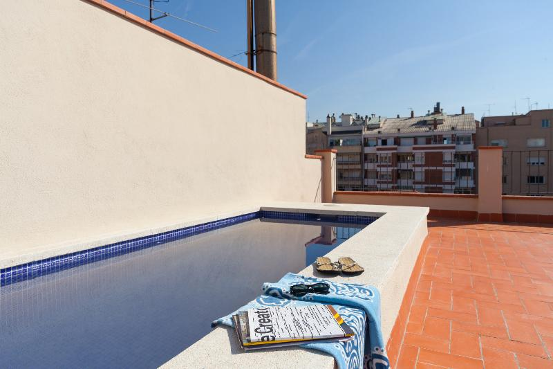 Pool & Terrace - Aparteasy DELUXE apartments TERRACE & POOL centre - Barcelona - rentals
