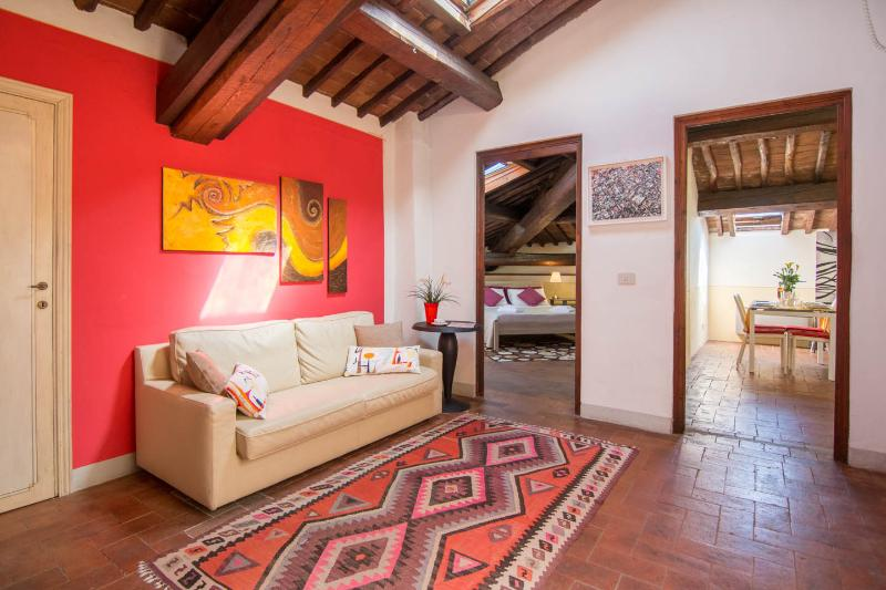 Lucca: romantic attic in a very tuscany style - Image 1 - Lucca - rentals