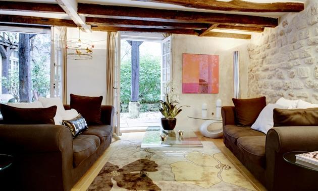 Apartment Bievre Paris apartment 5th arrondissement, Paris flat with garden,  Paris weekly rental, two bedroom rental Paris - Image 1 - Paris - rentals
