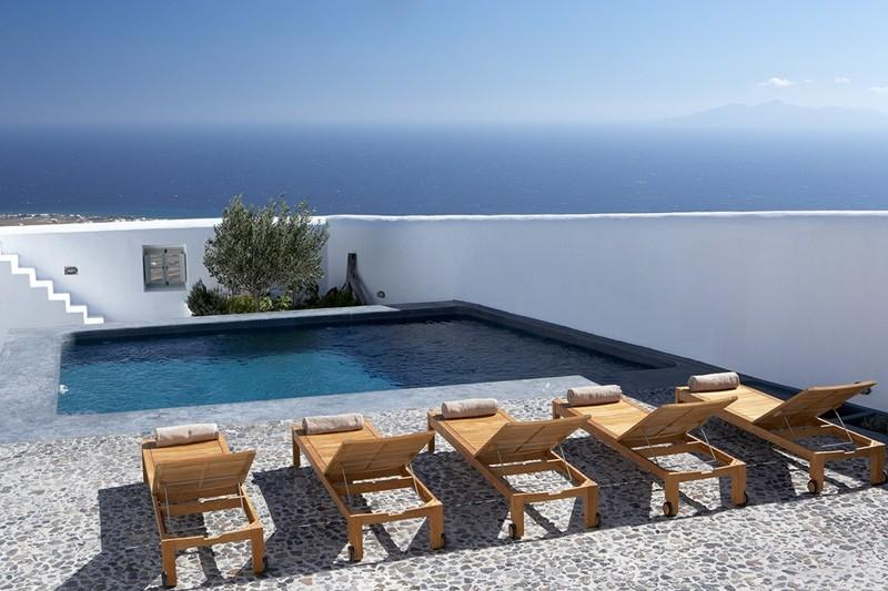 Eco Elegance Villa to let on Santorini, large villa Santorini to rent, holiday - Image 1 - Pyrgos - rentals