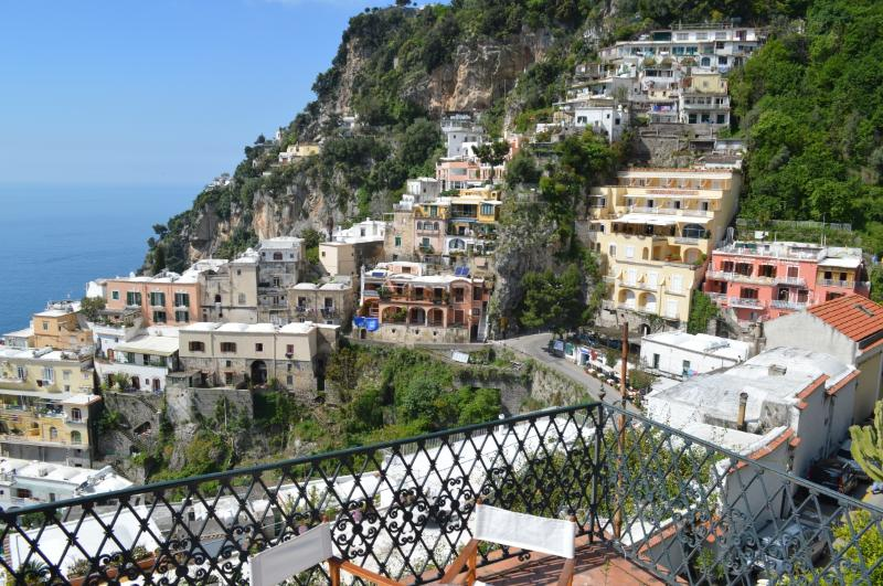 Villa Vista Positano Villa in Positano with view, holiday rental Positano, walk to town villa Amalfi, Amalfi holiday home to let - Image 1 - Positano - rentals