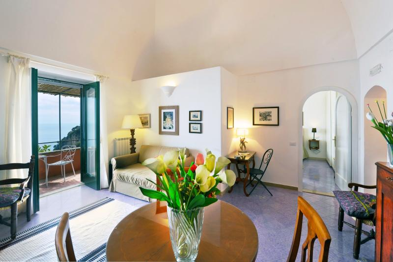 Casa Flamingo  holiday vacation apartment casa home rental italy, amalfi coast, positano, views, walk to town, short term long term apa - Image 1 - Positano - rentals