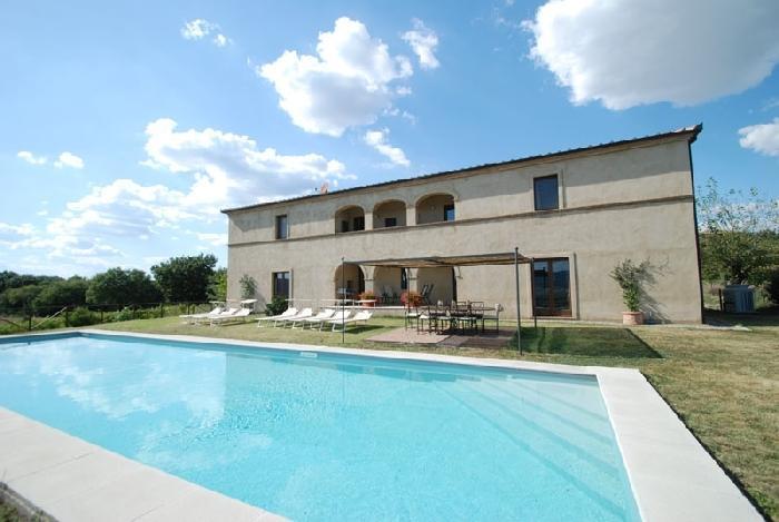 Villa Arbia holiday vacation villa rental italy, tuscany, siena, holiday vacation villa to rent italy, tuscany, siena, holiday vacat - Image 1 - Buonconvento - rentals