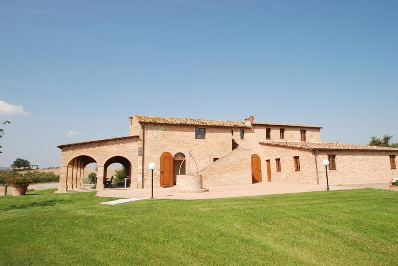 Villa Buonconvento vacation holiday large villa rental italy, tuscany, siena, buonconvento, pool, Wi-Fi, air conditioning, short term long - Image 1 - Buonconvento - rentals