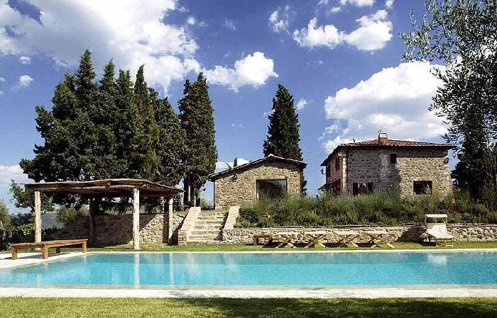 Villa Alhambra Luxury villa near Siena - Tuscany - Holiday villa to rent near - Image 1 - Montebenichi - rentals