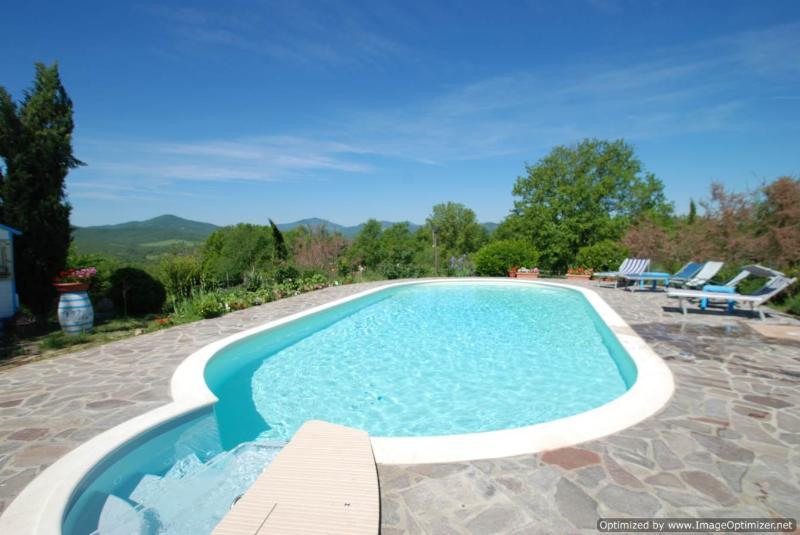 Villa Galgano Monticiano house rental in Tuscany - Image 1 - Monticiano - rentals