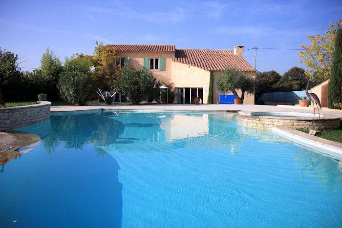 Pertuis South Luberon, Comfortable villa 8p private pool - Image 1 - Le Paradou - rentals