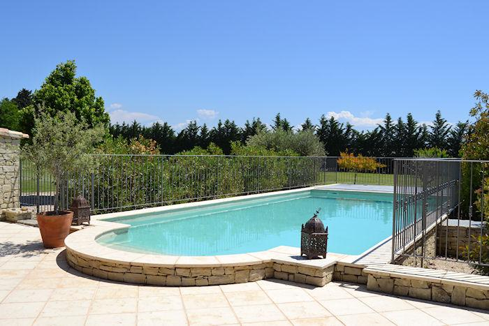 Carpentras Vaucluse, 16p. High level standing country house, private pool - Image 1 - Monteux - rentals