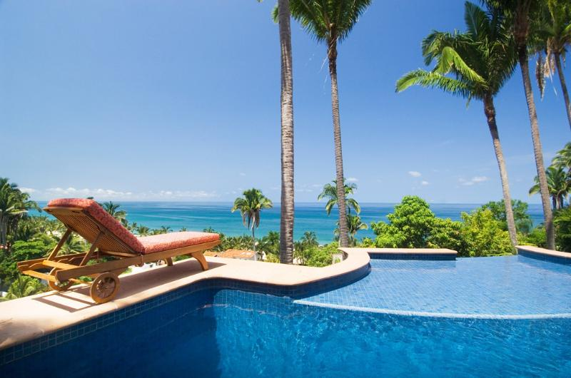 Ocean view from the pool - Casa Cascada - Ocean View! - San Pancho - San Pancho - rentals