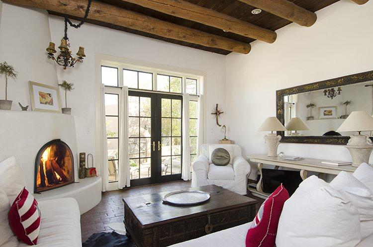 Living Room - Marina`s Casita - Santa Fe - rentals