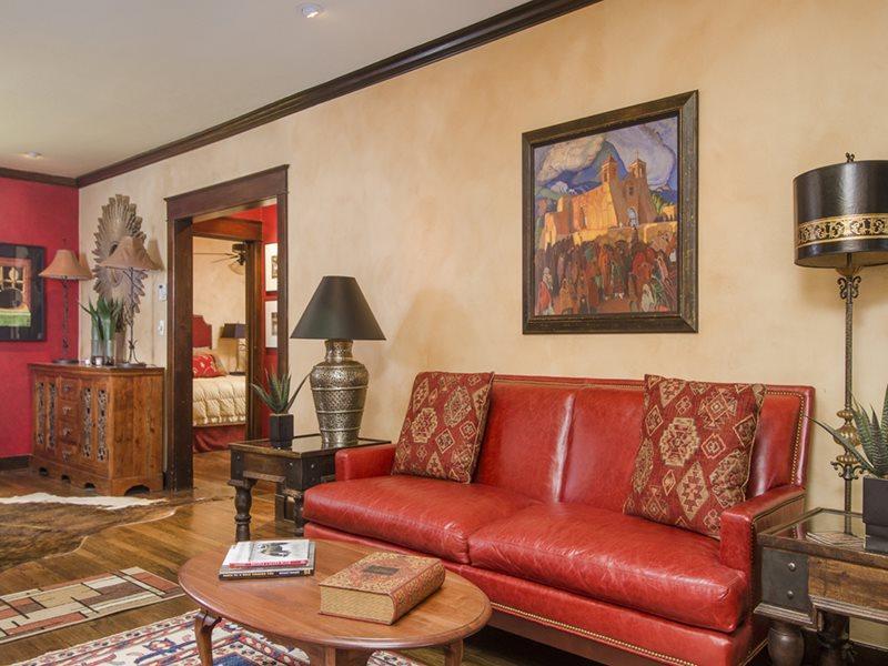 Living Room - Aqui te Espero - Santa Fe - rentals
