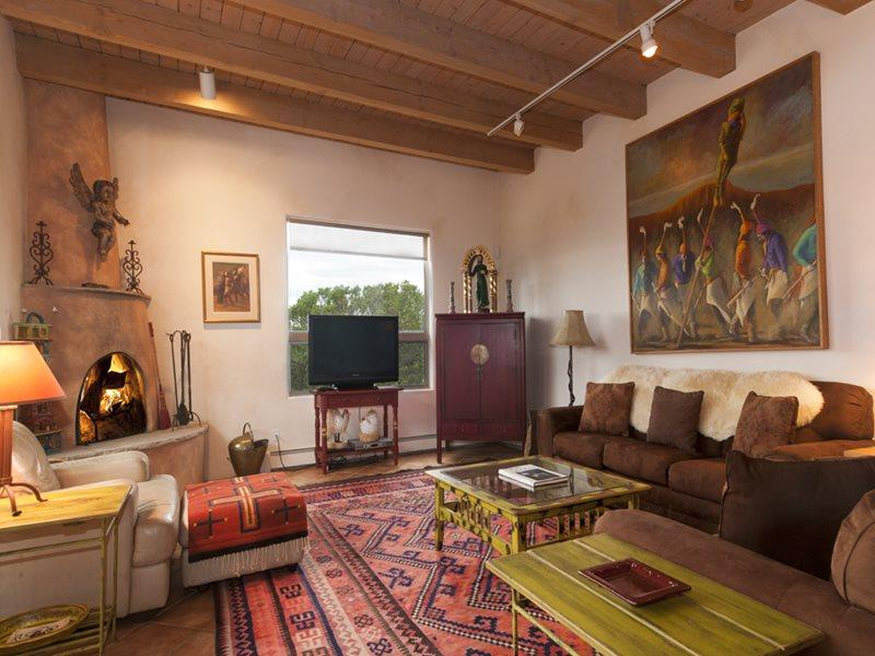 Living Room - Adobe Destinations - Cielo Azul - Santa Fe - rentals