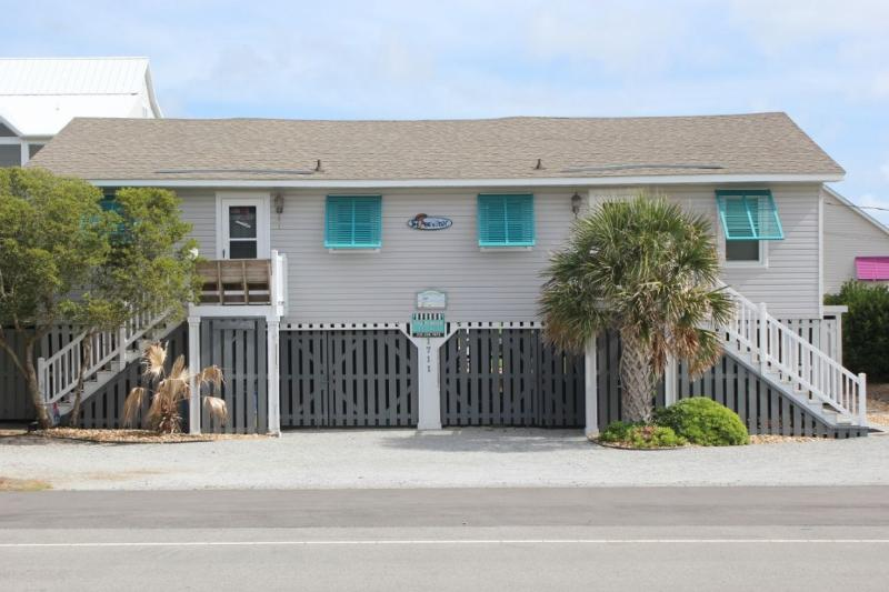 Exterior Street Front - Shore is Fun - Emerald Isle - rentals