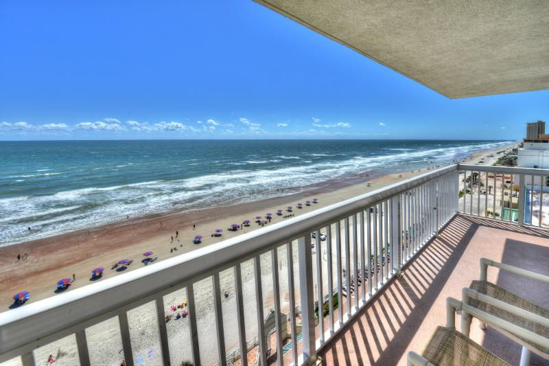 Oceanfront Balcony on the 11th floor unit - Daytona Beach Resort - Oceanfront - sleeps 4 - Daytona Beach - rentals